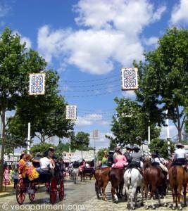 feria horse carriages