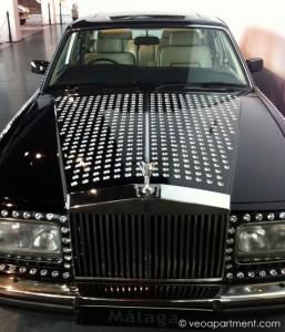 Michael Jackson's Swarovski crystal-studded Rolls Royce