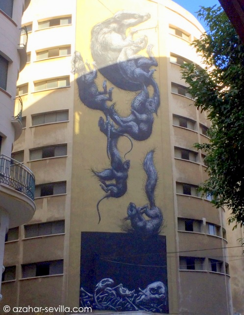 graffiti rats