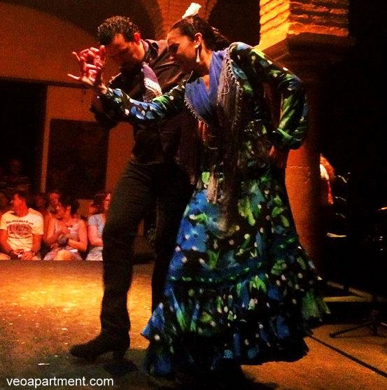 noche blanco flamenco