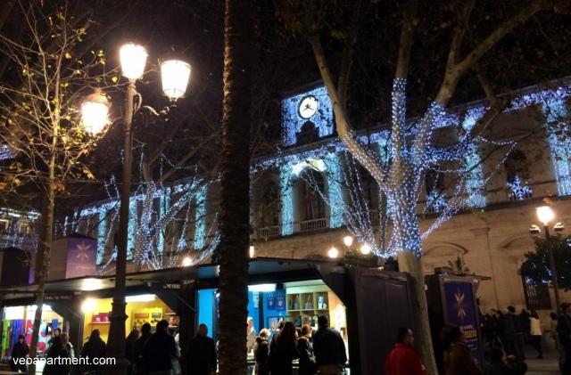 christmas market ayuntamiento