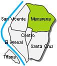 Macarena Stadtviertel Sevilla