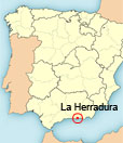 Location of apartment La Herradura