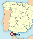 Location of apartment Rota (Cádiz)