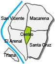 Location of apartment El Centro
