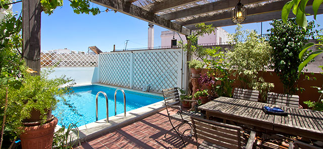 Location appartement de vacances seville grenade for Location appartement avec terrasse 92
