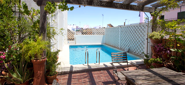 Seville rental apartment Miguel Terrace | 4 bedrooms, 4 bathrooms, large terrace and private pool 0268