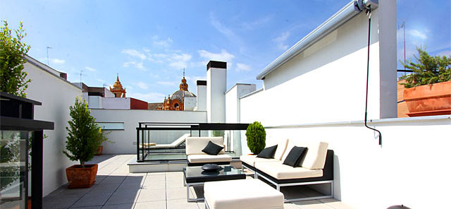 Seville rental apartment Corral Rey Terrace 2 | South-faced terrace. Sun all year 0552