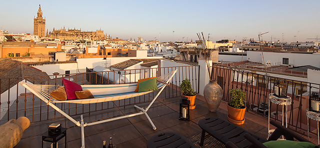 Seville rental apartment Zaragoza Terrace | 3 bedrooms, 3 bathrooms, private terrace 0816