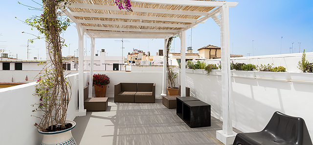 Seville rental apartment Alfarería Terrace | 2 bedrooms, private terrace 0857