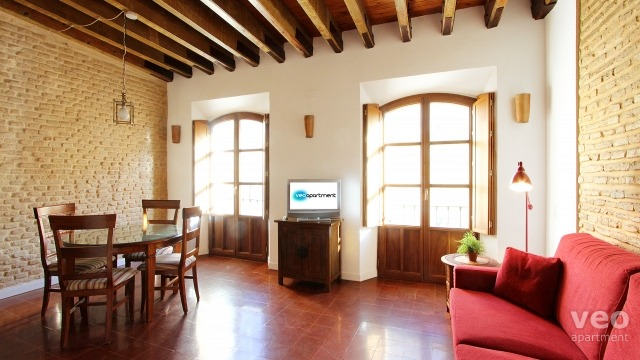 Rent vacacional apartment in Sevilla Calle Relator Sevilla