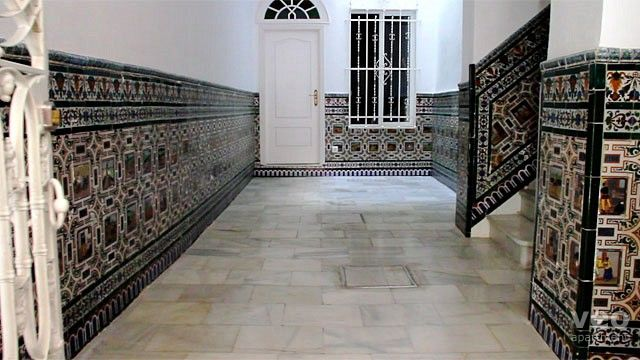 Seville Apartment Building entrance hallway of the Relator apartments Street Spain 1
