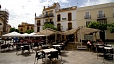 Seville Apartment - Terrace of the Altamira Bar. A courtesy breakfast is included here in the daily rate.