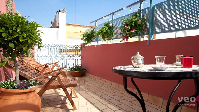 Rent vacation apartment in Seville Mesón de los Caballeros Street Seville