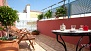 Sevilla Apartamento - Wonderful private terrace filled with plants and garden furniture.
