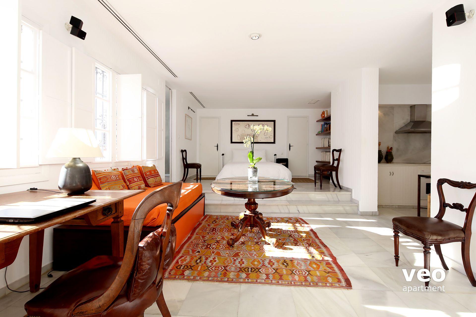 Seville apartment zaragoza street seville spain plaza - Loft en sevilla ...
