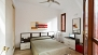 Seville Apartment - Bedroom with double bed (1,35 x 1,90 m).