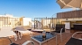 Seville Apartment - The terrace is an ideal spot to enjoy the Sevillian sunset.