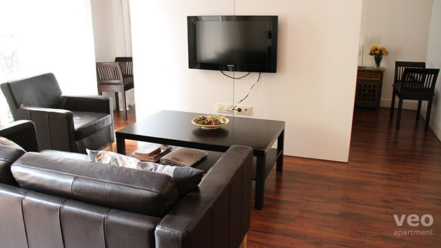 Wohnzimmer Sofa Mitten Im Raum Apartment Mieten Lvarez Quintero