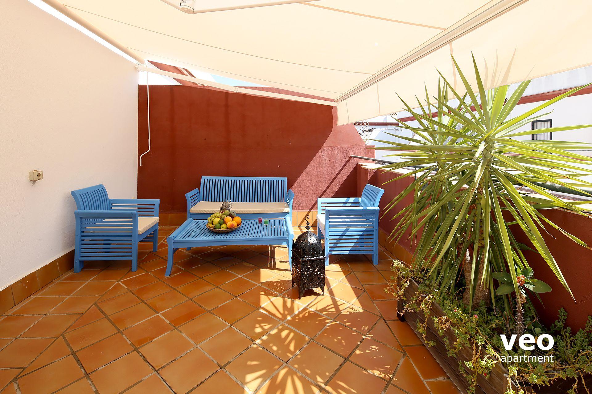 Sevilla Apartmento Calle Hombre De Piedra Sevilla Espa A Alameda  ~ Decoracion De Terrazas De Aticos