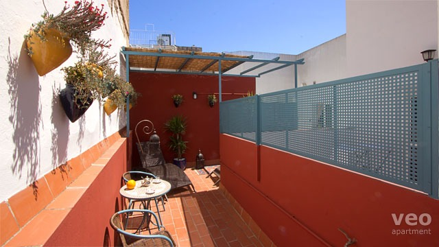 Rent vacation apartment in Seville Vidrio Street Seville