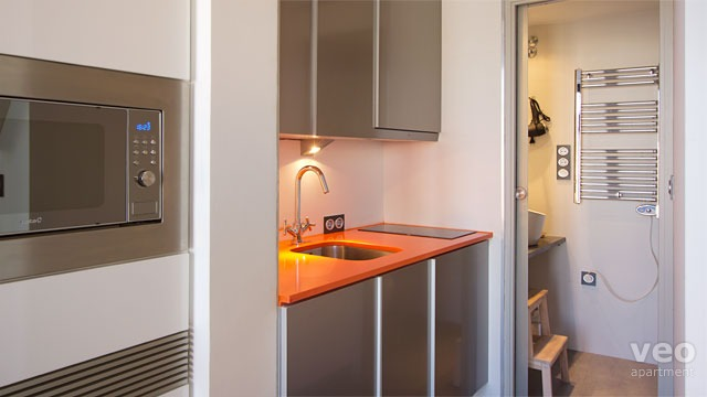 Appartement place nueva grenade espagne studio for Petite cuisine equipee studio