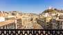 Granada Ferienwohnung - View from the balcony towards Plaza Nueva, Alhambra, Albaic�n and Sacromonte.