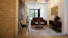 Seville Apartment - Features include exposed brick walls, traditional tile, wood flooring and contemporary art.