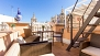 Seville Apartment - Private terrace with outdoor furniture.