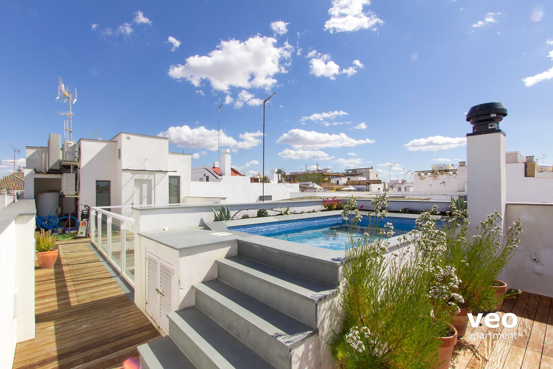 charmant Seville Apartment - Apartment with private terrace and pool.