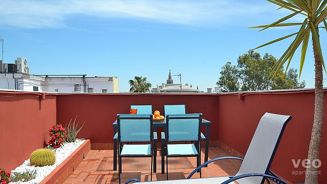 Rent vacation apartment in Seville Pureza Street Seville