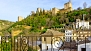 Granada Ferienwohnung - View up towards the Alhambra from the balcony.
