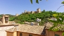 Granada Ferienwohnung - View of the Alhambra from the private terrace.