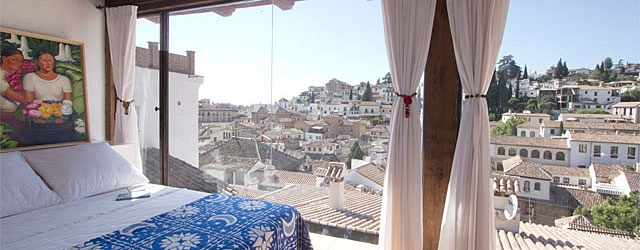 Granada rental apartment Carmen Terrace 1 | Studio with terrace garden & panoramic views 0295