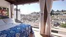 Granada Apartment - The studio apartment has magnificent views and a private garden.