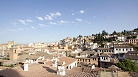 Granada Apartment - View from the apartment towards Plaza Nueva and the Albaic�n.