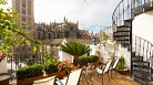 Sevilla Apartment Catedral Terrasse