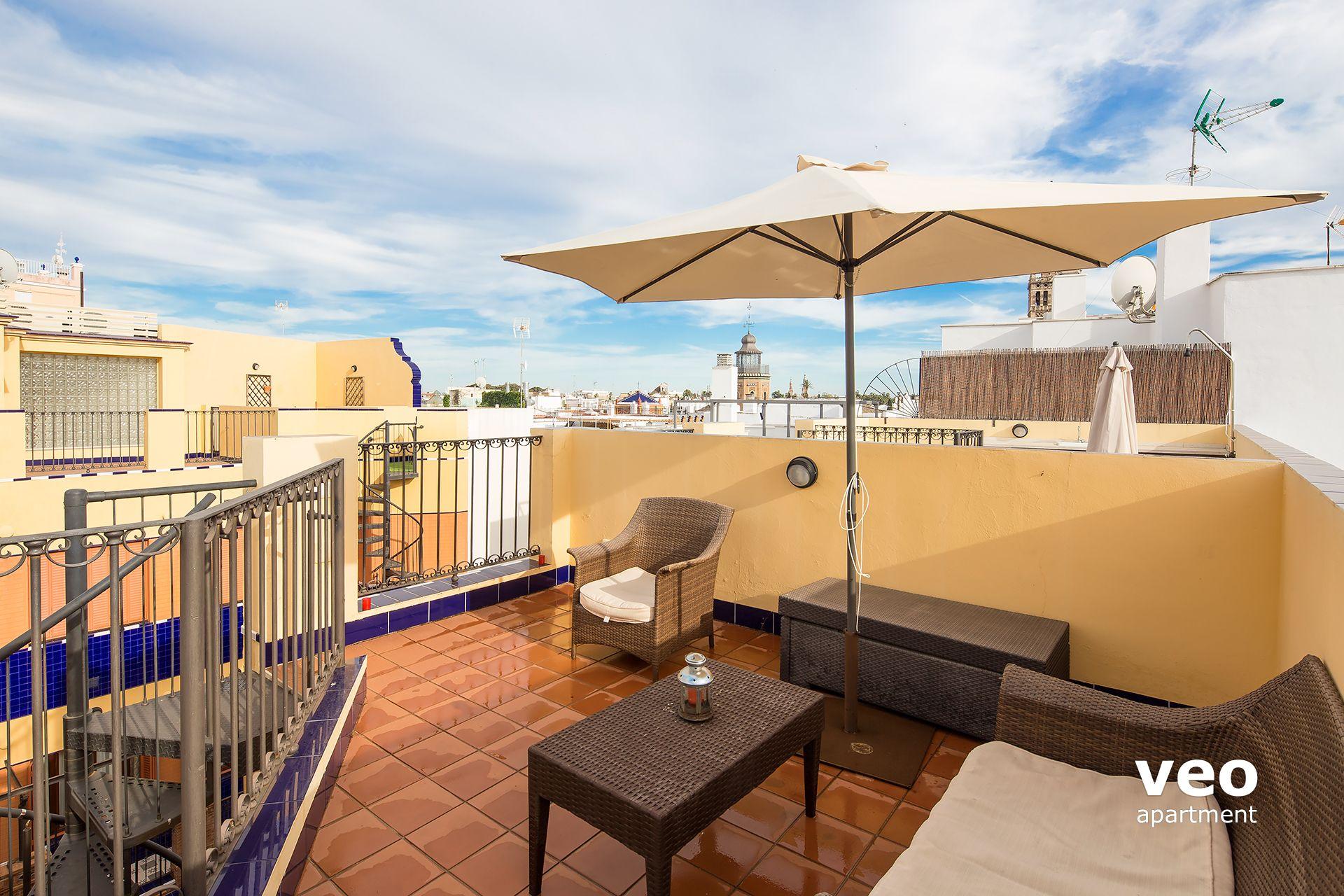 Appartement Rue Pajaritos Seville Espagne Pajaritos 2 Terrasse