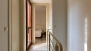Seville Apartment - Upper floor: The door on the left opens to the bathroom. Beyond is the double bedroom.