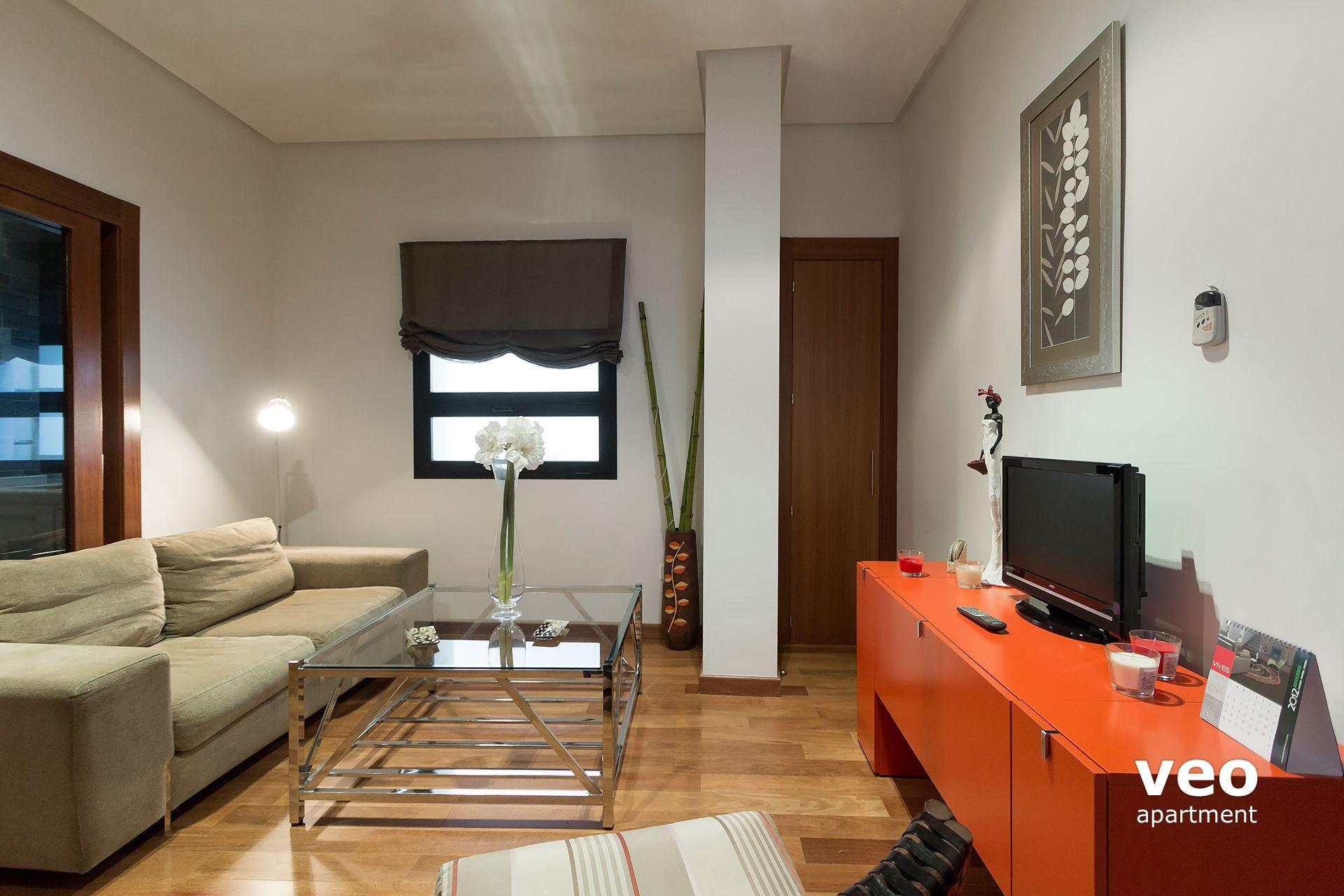 Separation Salon Chambre Studio seville apartment corral del rey street seville spain