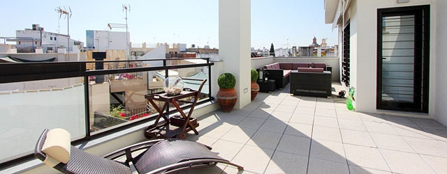 Seville rental apartment Corral Rey Terrace 1 | Giralda and Cathedral views 0392