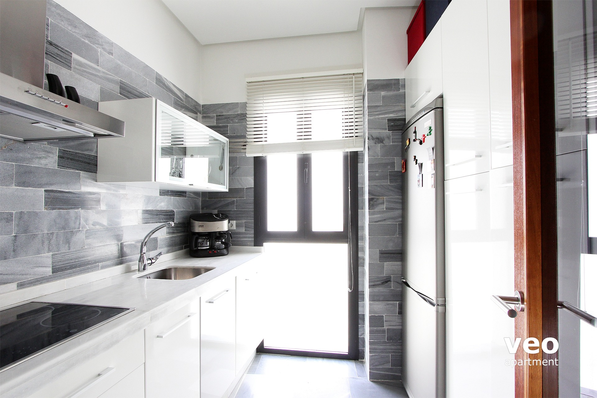 seville apartment the kitchen has modern appliances and utensils for