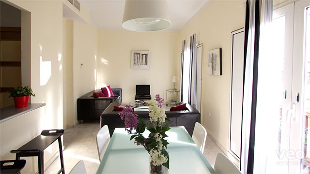 Rent vacation apartment in Seville Pedro Roldán Street Seville