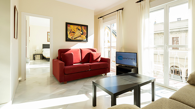 Rent vacation apartment in Seville Rioja Street Seville