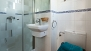 Seville Apartment - En-suite bathroom with shower (inside bedroom 3).