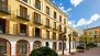 Seville Apartment - The large courtyard of the house.