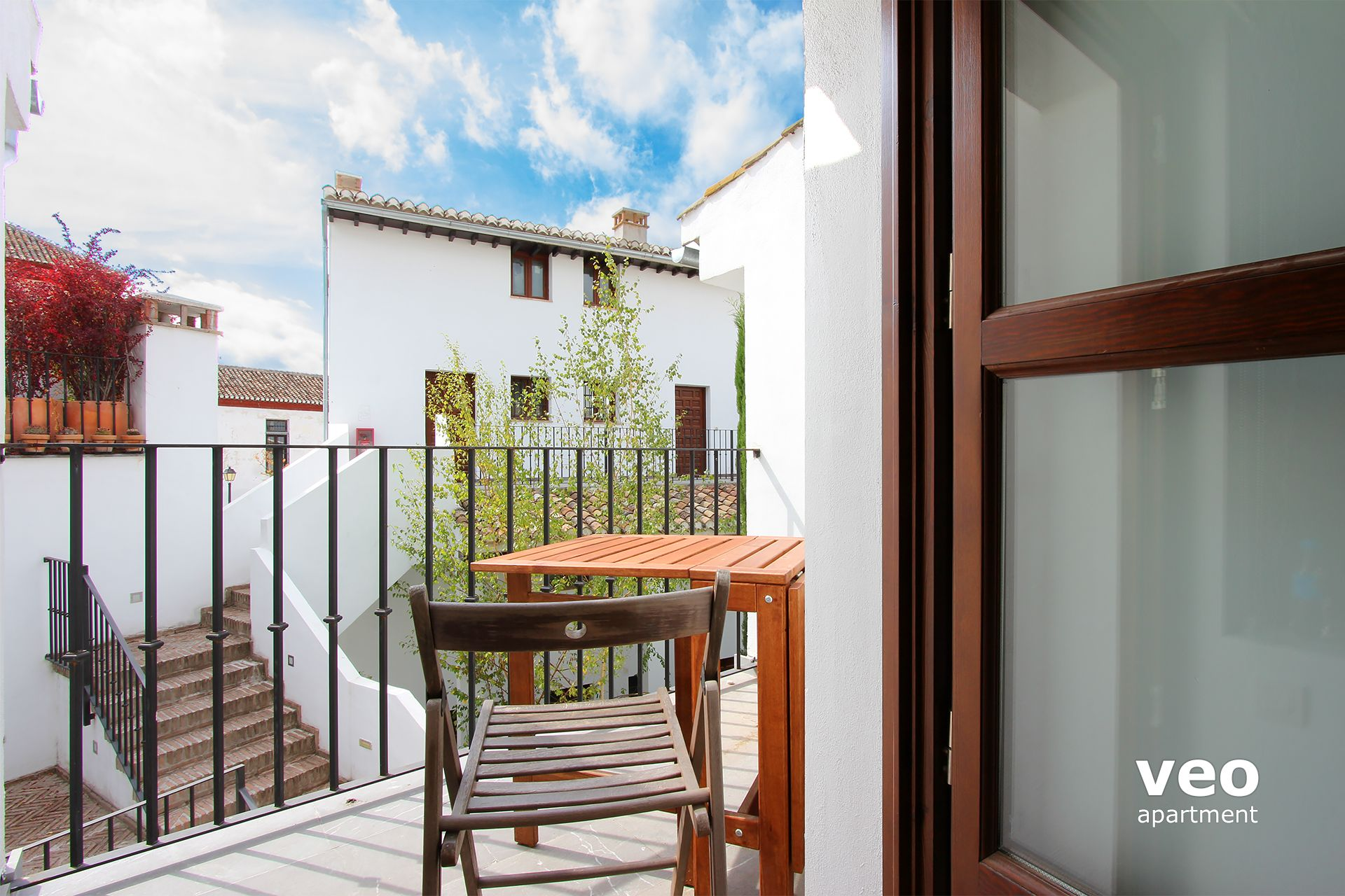Seville Apartment   The Access To The Terrace Is From The Bedroom, ...