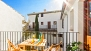Granada Apartment - This duplex apartment has a private terrace overlooking the courtyard of the house.