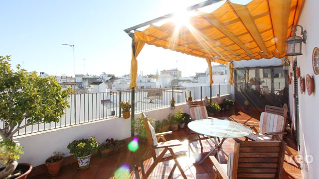 Rent vacation apartment in Seville Monsalves Street Seville