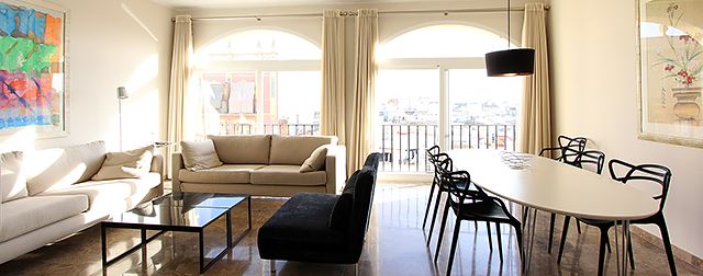 Seville rental apartment Arenal | Superior 2-bedroom apartment with skyline views 0614